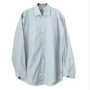 English Laundry | Blue Stripe Long Sleeve Shirt